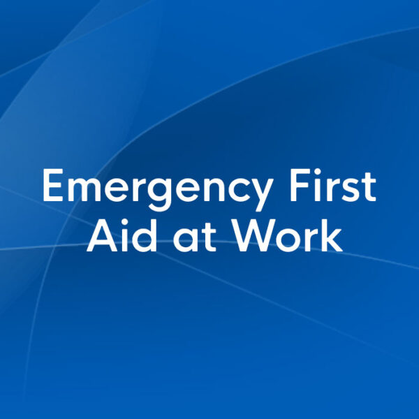 emergency first aid at work
