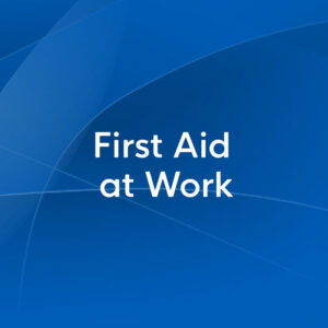 first aid at work
