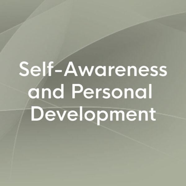 self-awareness and personal development